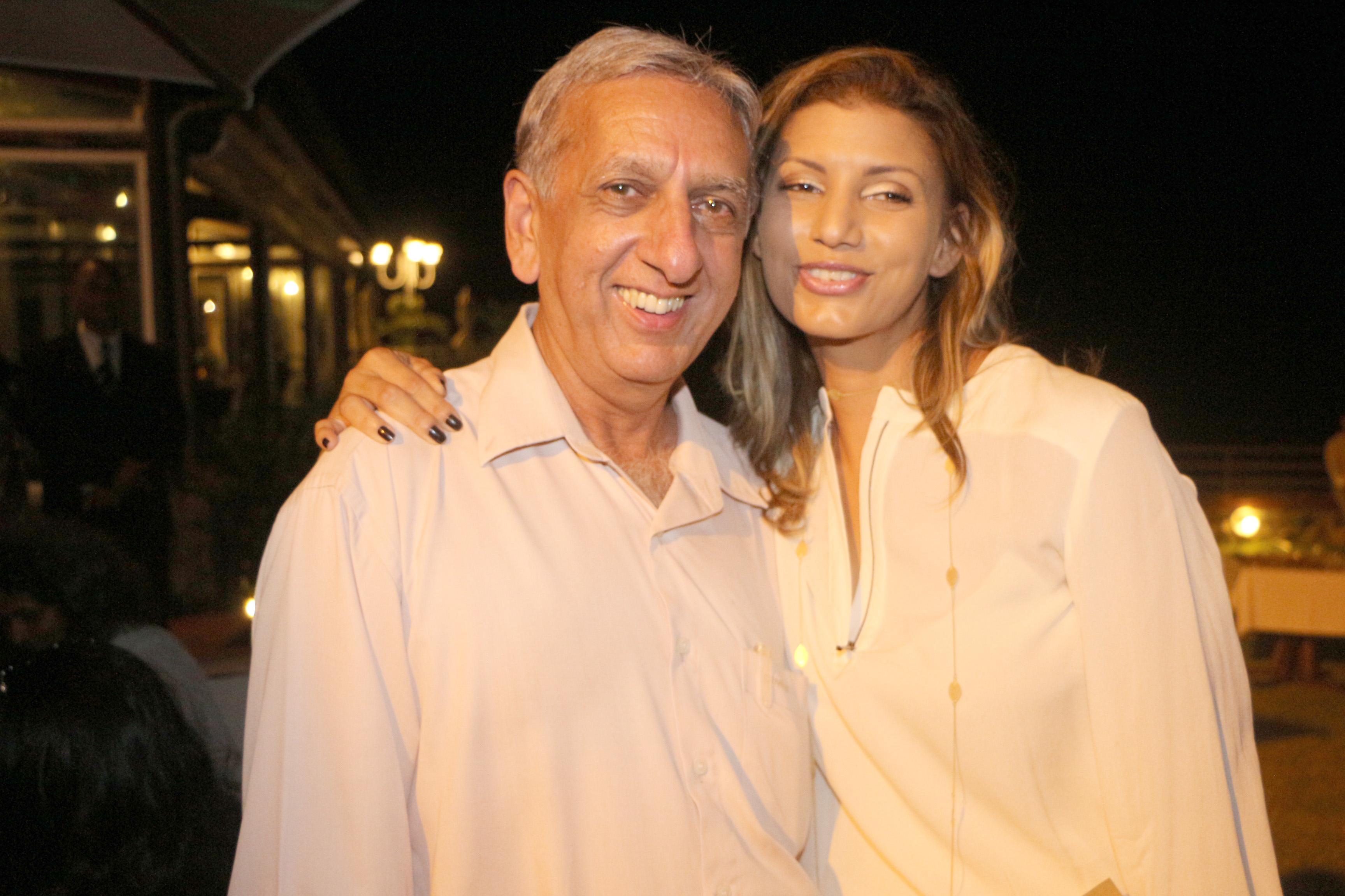 Gessica Pitou et Aziz Patel