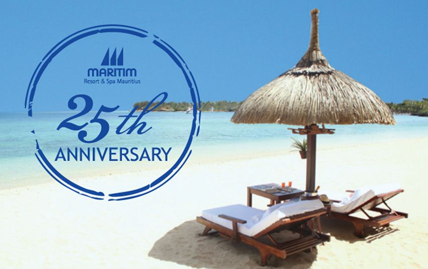 Les 25 ans du Maritim Resort & Spa Mauritius<br>Cap vers l'excellence!</ br>