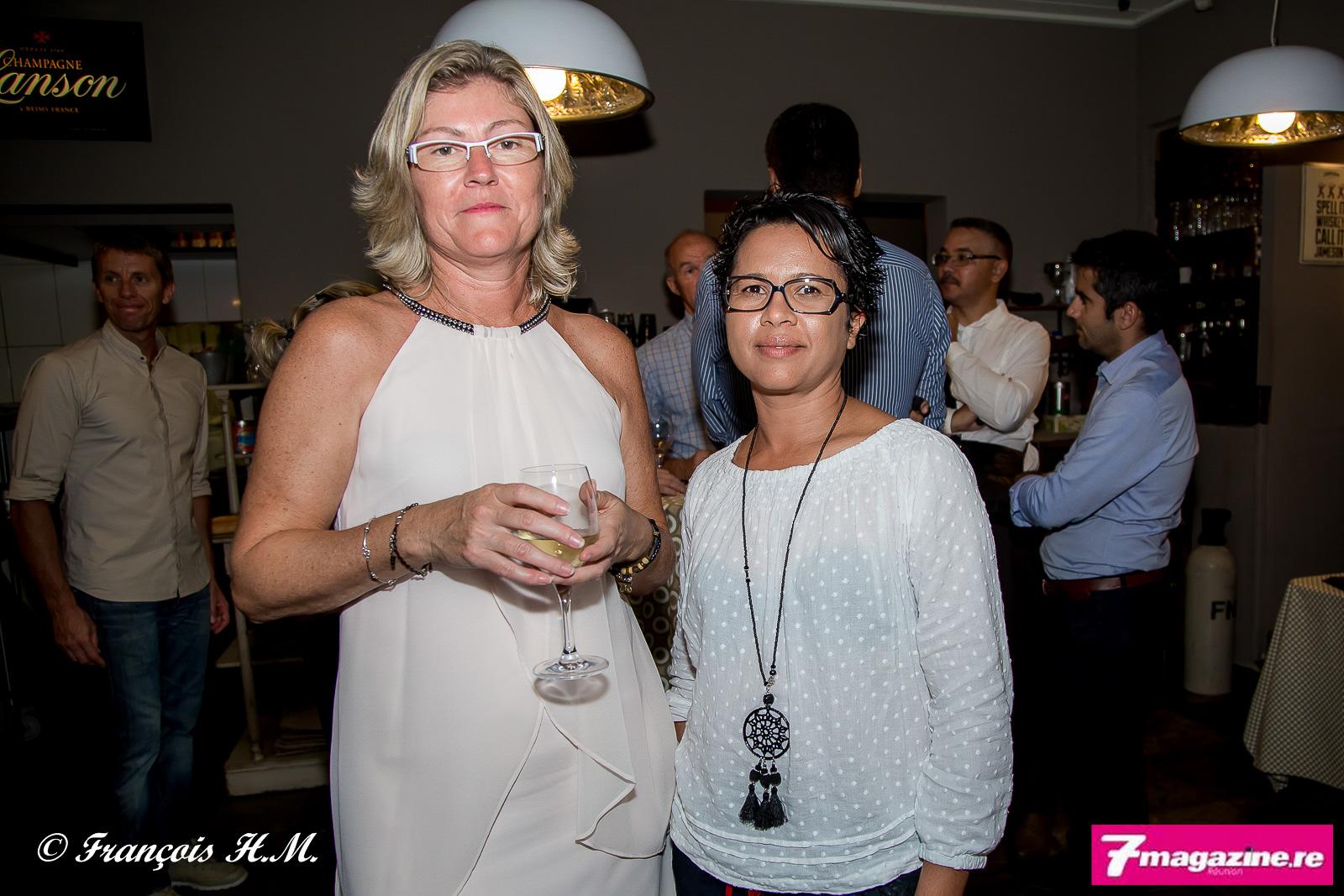 Véronique Marcy d'April Partenaires Réunion, et Géraldine Bluker de Réunion Assurances
