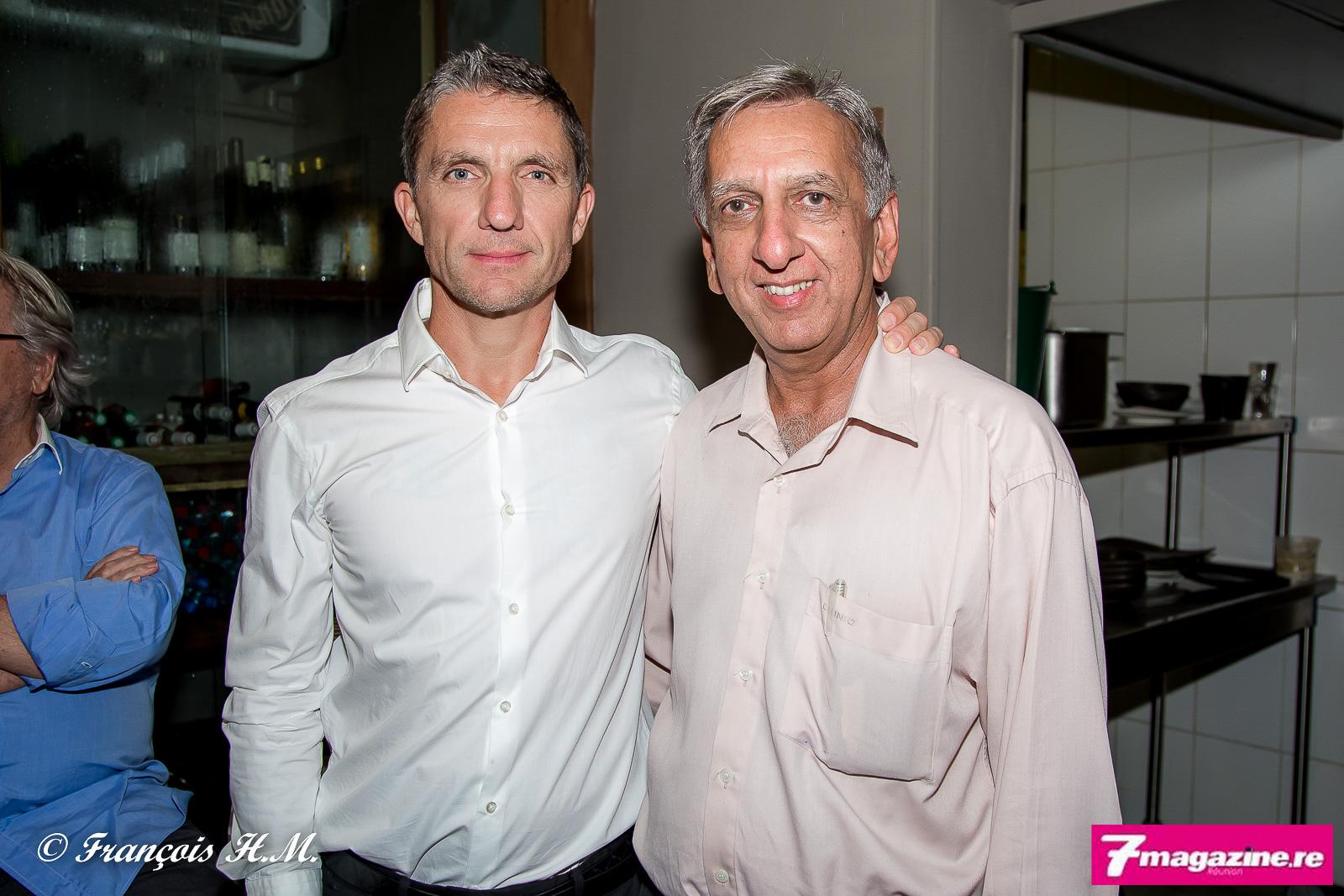 Michel Petiot et Aziz Patel