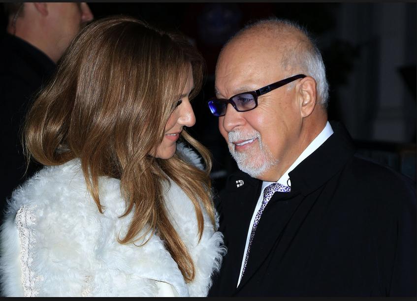 Le mari de Céline Dion est mort