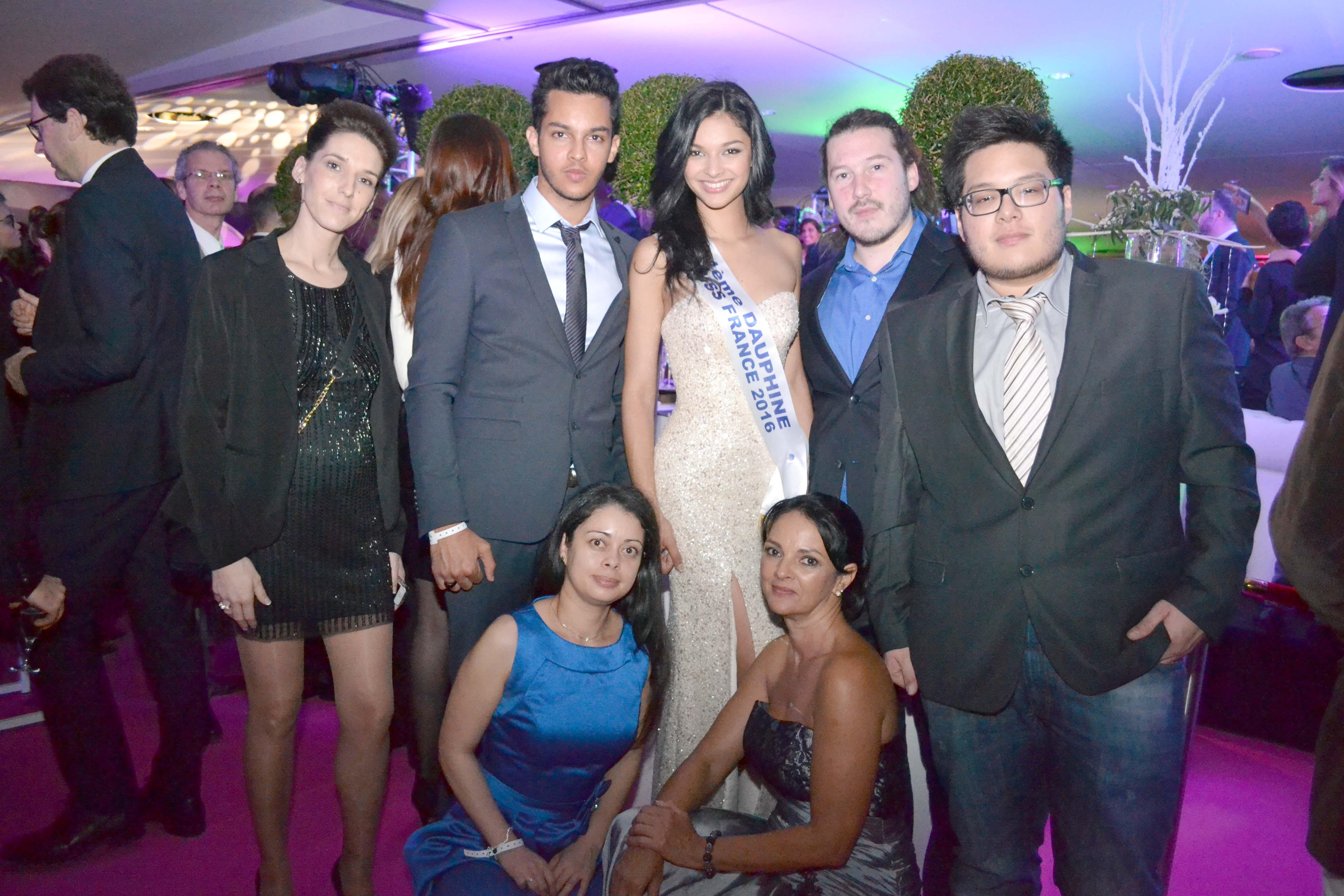 Azuima Issa et sa famille