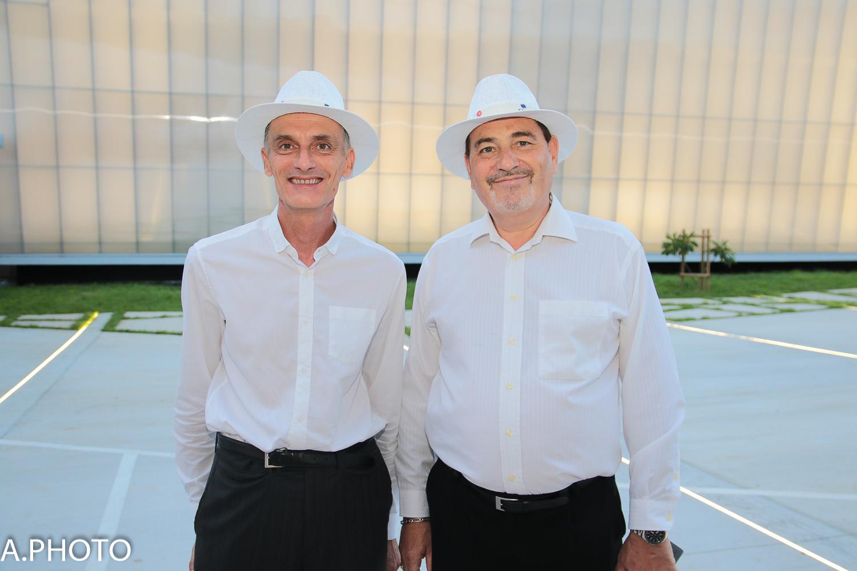 Gilles le Mellec, Directeur Service Citroën et Gérald Ivaldi, directeur des Ressources Humaines