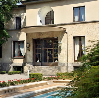 La superbe Villa Necchi à Milan où s'est déroulé le shooting, un lieu ultra privé!