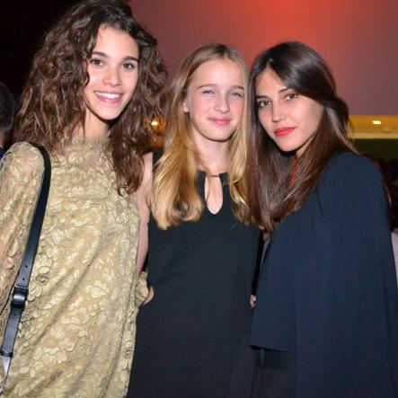 A Milan, Léia Matagne a rencontré notre célèbre Pauline Hoarau et Marilhéa, qui avait aussi gagné le concours Elite Model Look