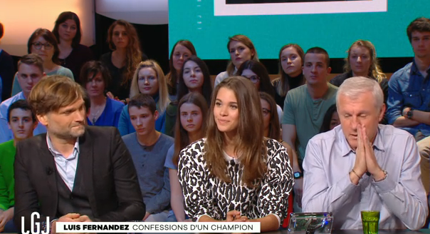 Pauline Hoarau au Grand Journal de Canal+ hier soir<br>Au Top!