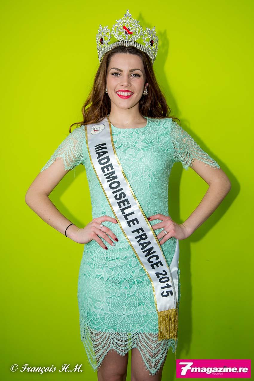 Pauline Lima, Mademoiselle France 2015, était de passage à La Réunion, elle ne sera pas présente à la finale du 30 janvier