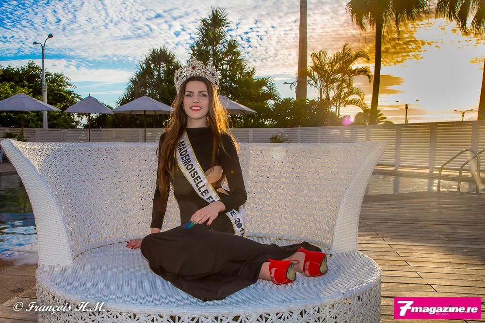 """Pauline Lima, Mademoiselle France<br> """"La Réunion, la plus belle chose de ma vie!"""""""