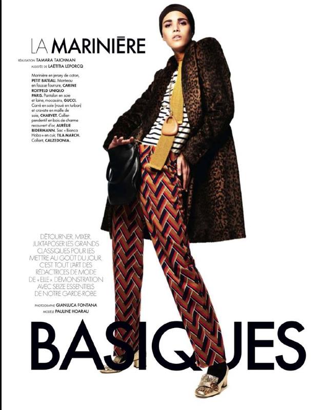 Pauline Hoarau version Basiques Instinct