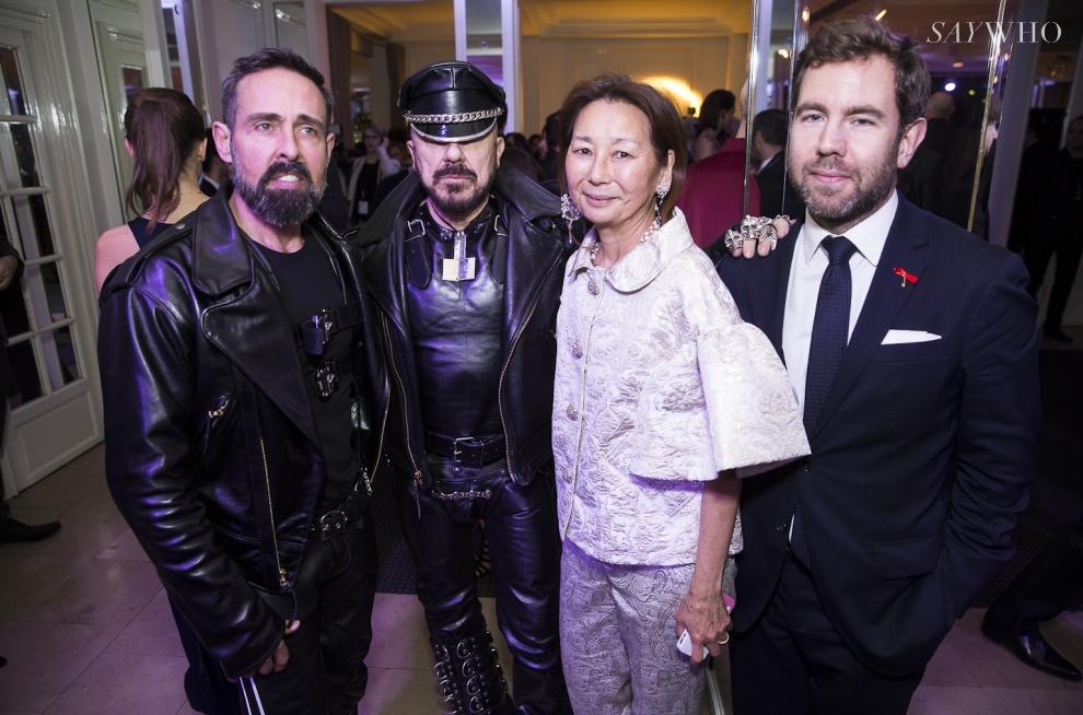 Peter Marino, Gay Gassmann, Juan Carlos