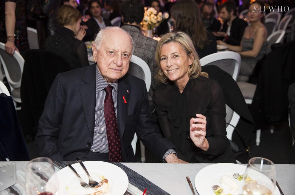 Pierre Bergé, Claire Chazal