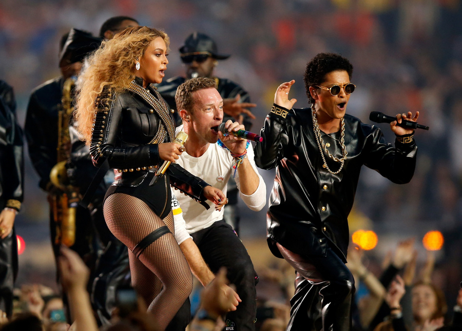 Coldplay, Beyoncé et Bruno Mars au Super Bowl
