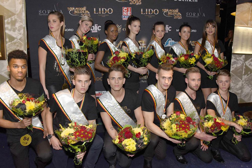 Top Model Belgium 2016<br> Plus de 150 filles et garçons au Lido!