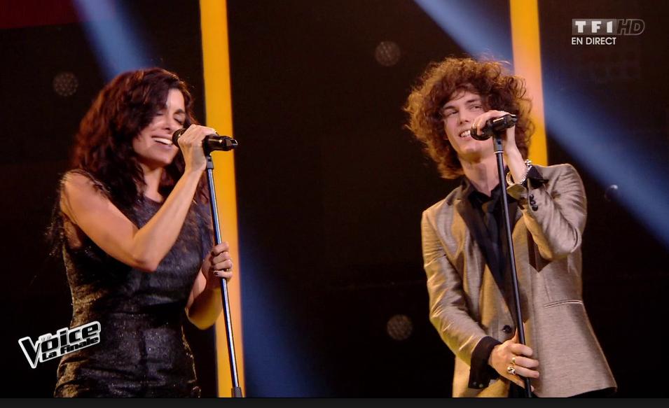 Photo: capture d'écran TF1/The Voice