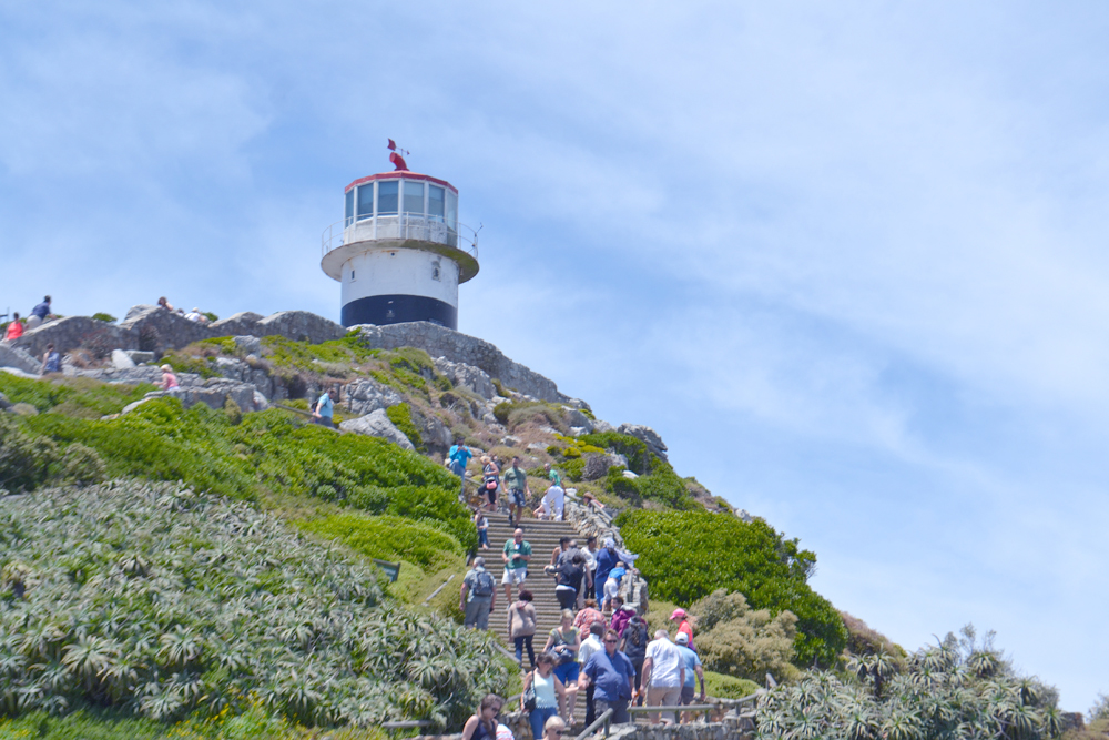 Le célèbre phare de Cape Point