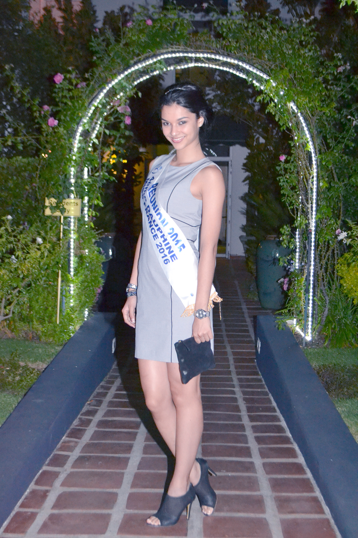 Notre belle Miss Réunion au Majeka House