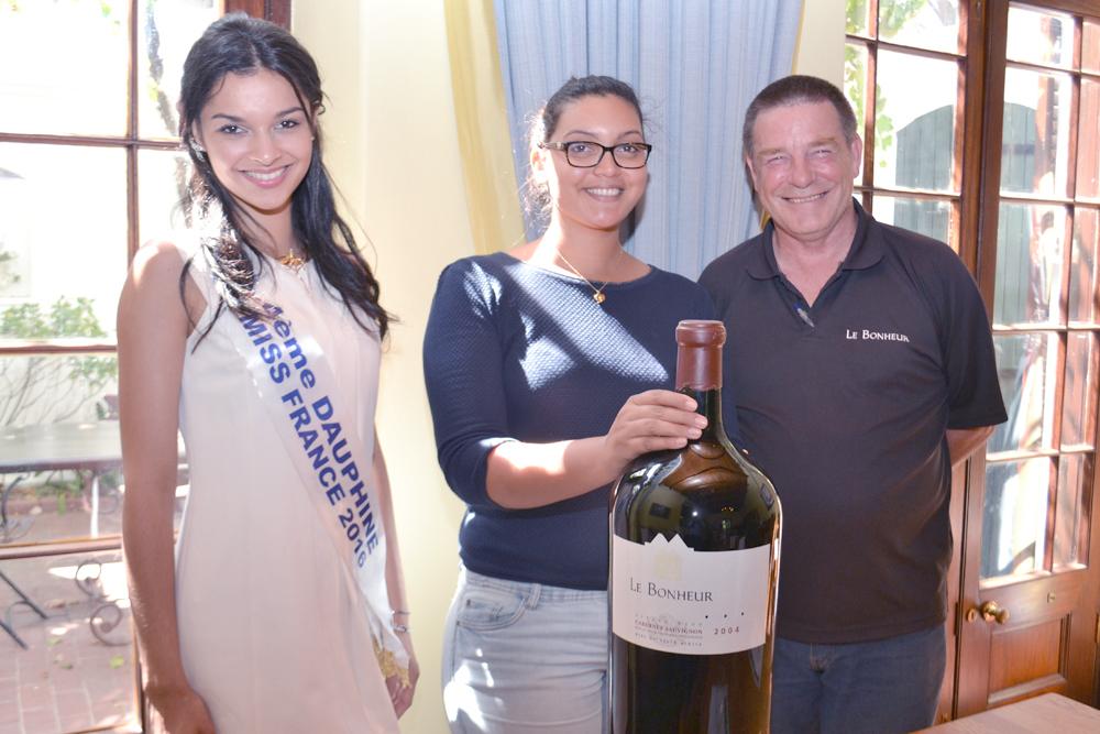 Azuima, Elodie et Craig Brooke du Le Bonheur Wine Estate