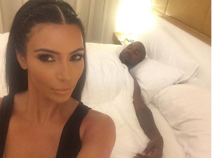 Photo: Instagram Kim Kardashian. Ce temps là semble révolu