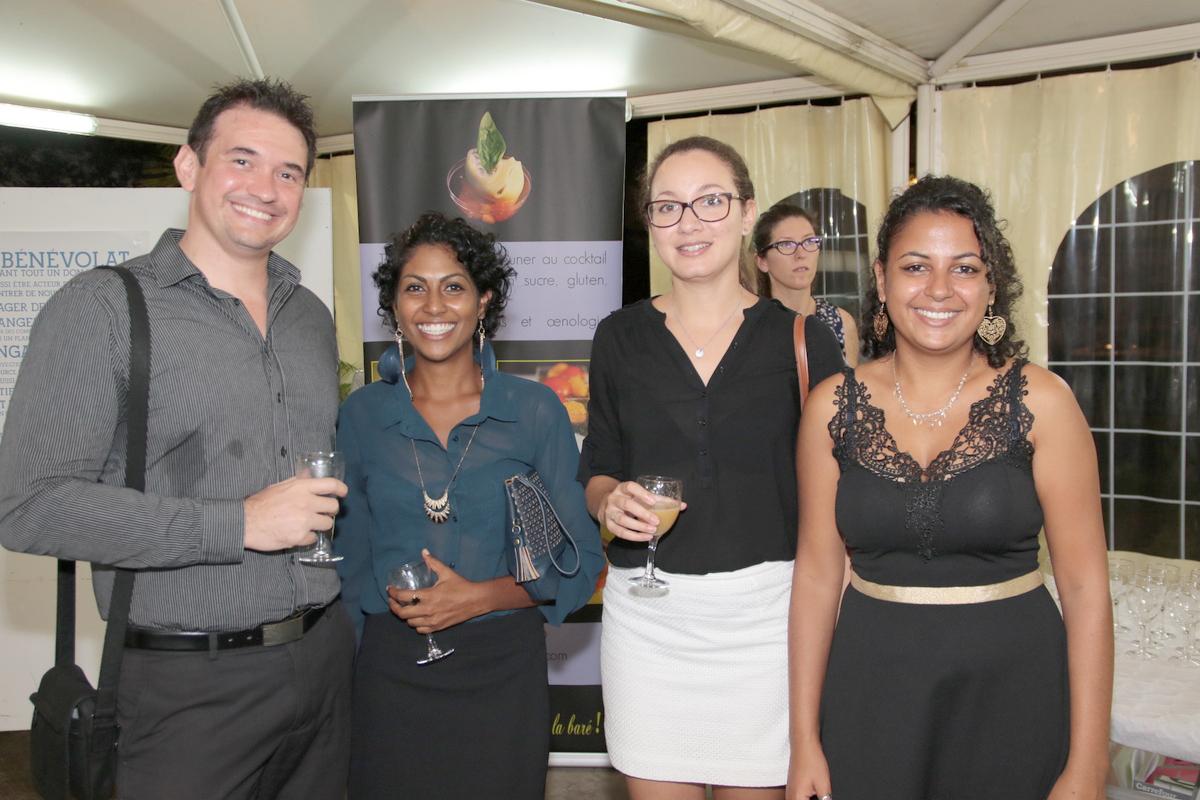 Guillaume, Natacha, Anne-Laure et Leslie: membres de la JCE
