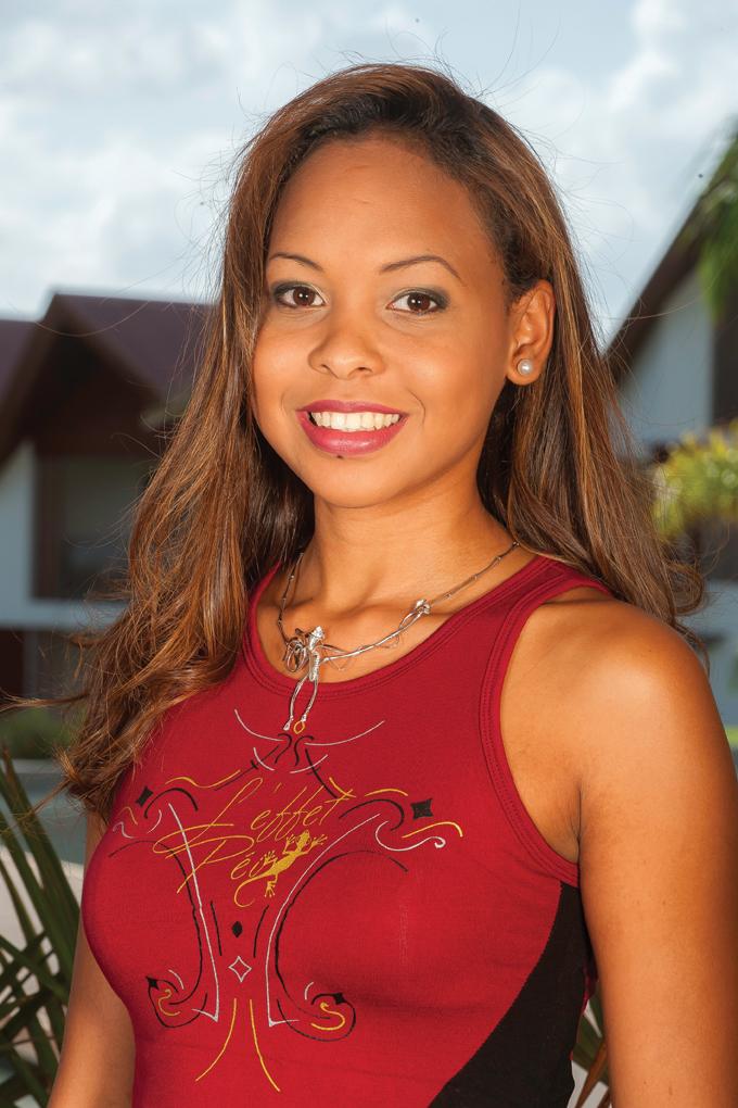 8. Valérie GARDEBIEN - 22 ans, 1,76m - Saint-Gilles-les-Bains