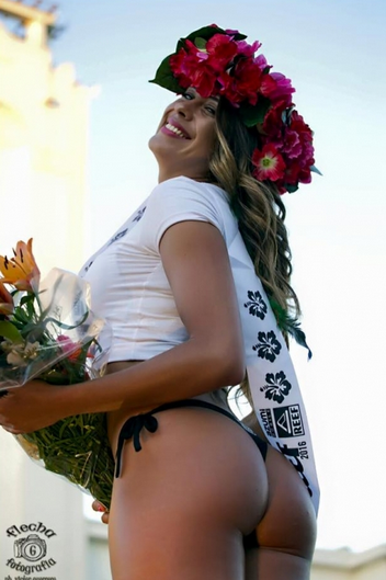 La gagnante: Veronica Vieyra, 28 ans est présentatrice télé et mannequin