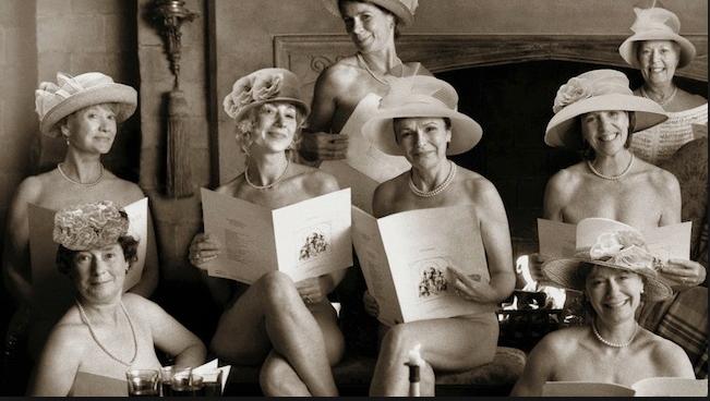 Calendar Girls, un film dans lequel des quinquagénaires se déshabillaient pour une oeuvre caricative