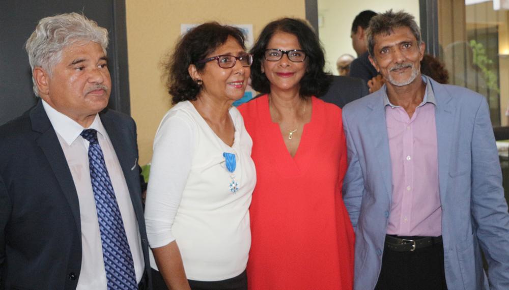 Issop et Tayeba Moullan, Sabéra et Yacoub Moullan, le frère de Tayeba