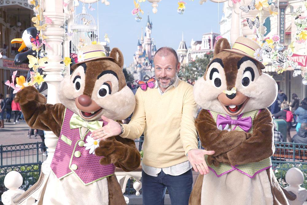 Les célébrités fêtent déjà le Printemps à Disneyland Paris!