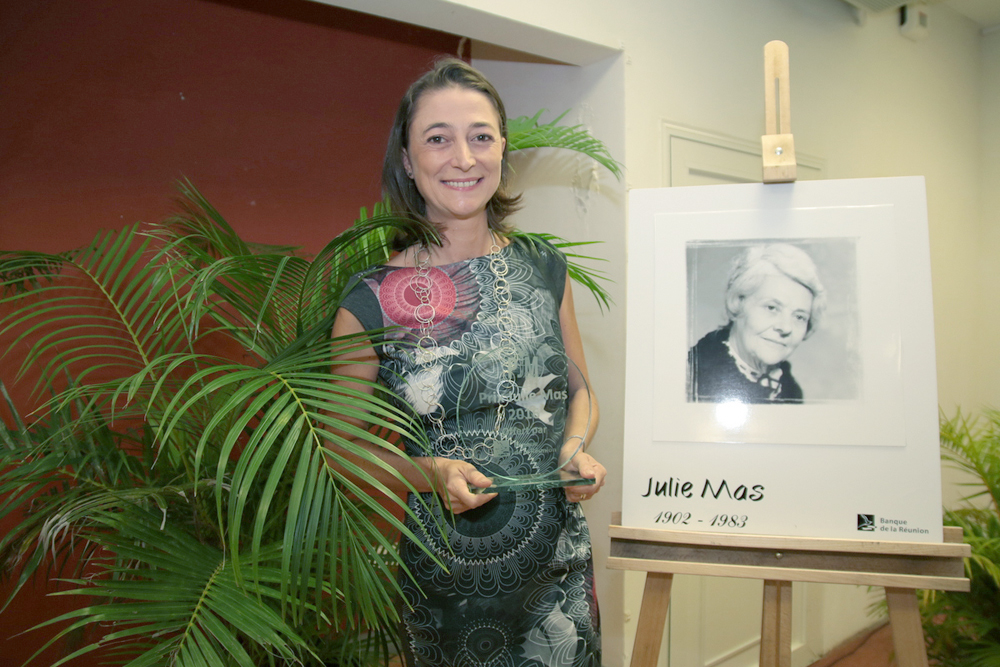 Julie Bolletot-Naguin (Société Egeri), Prix Julie Mas 2016. Elle se prénomme aussi Julie!