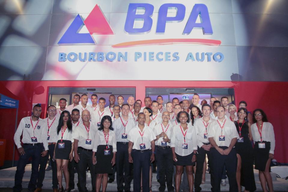 La photo de l'équipe BPA