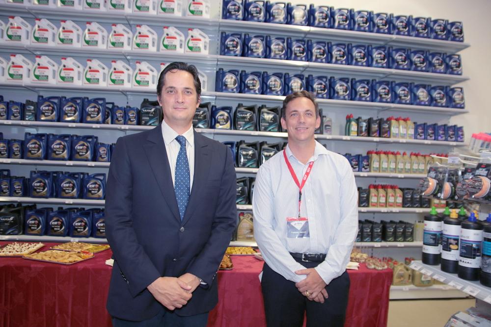 Rodolphe Hayot et François Galette, le directeur de BPA