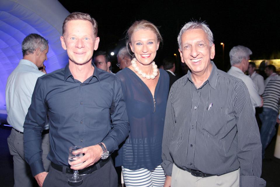 Marc Tezenas, Catherine Ronin et Aziz Patel
