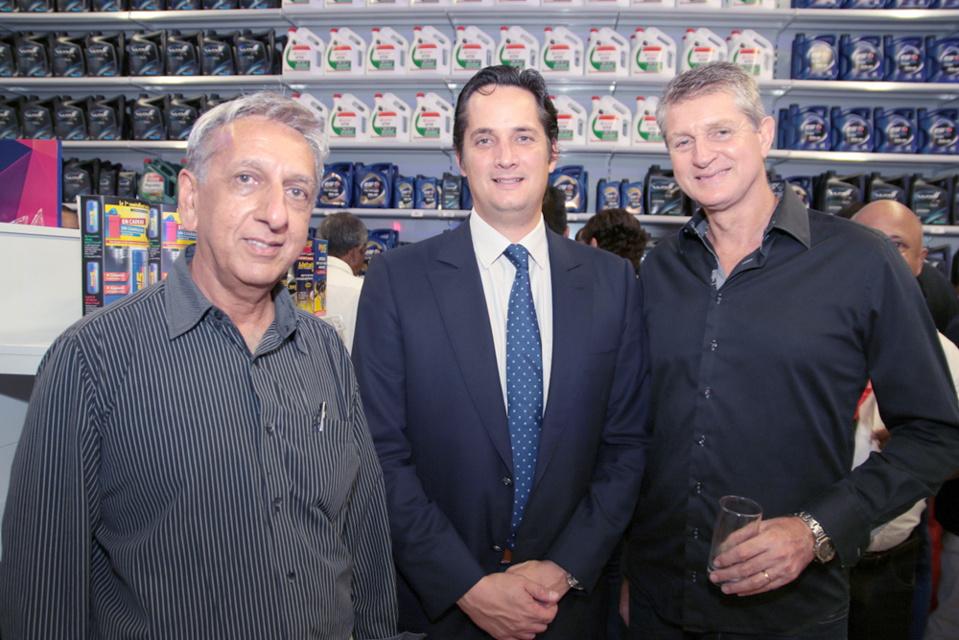 Aziz Patel, Rodophe Hayot et Yves Gruyer