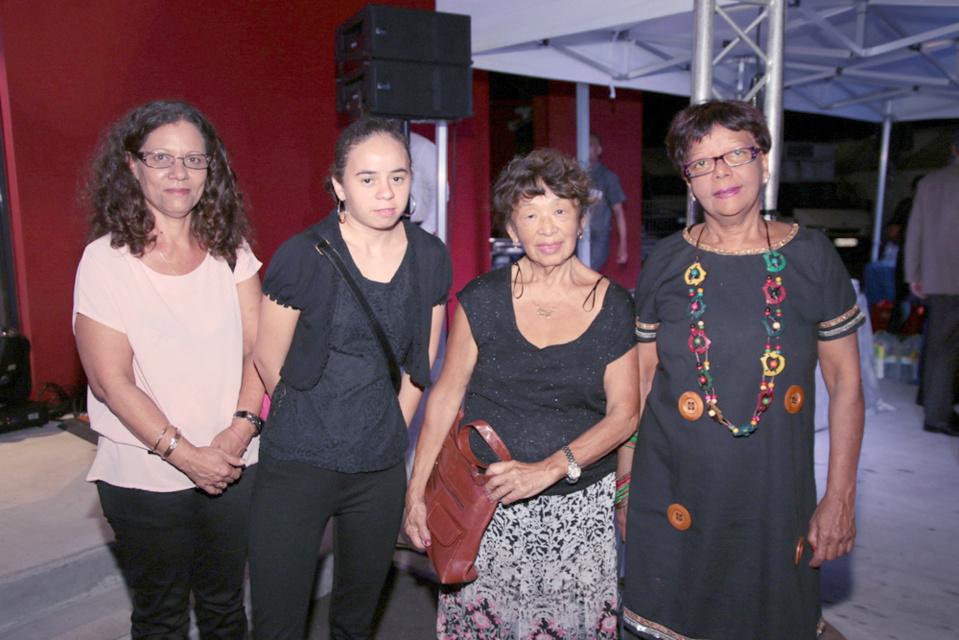 Dominique Dambreville et sa famille