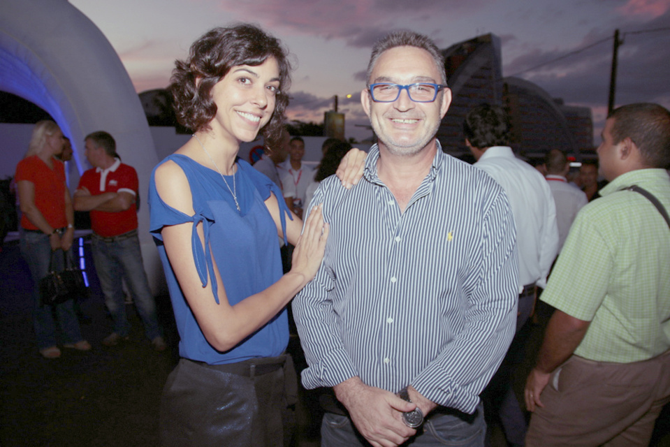 Caroline Aigule et Patrick Morlet de Ferebam
