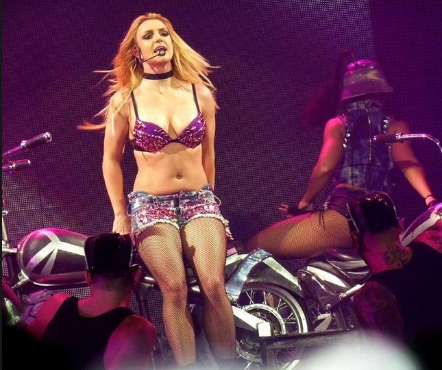 Quand Britney se laissait aller