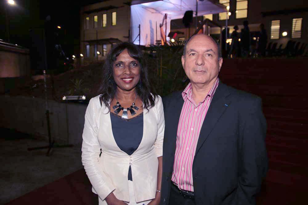 Ida Camalon et Pascal Ravenel
