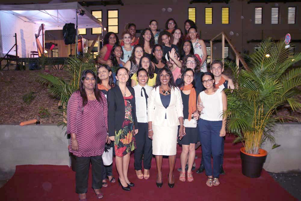 L'équipe UCO La Réunion