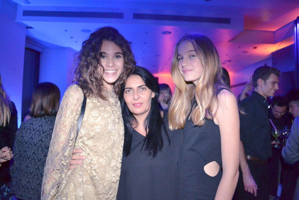 Victoria Da Silva, présidente Elite Model Look International avec les Réunionnaises au top, Pauline et Léa