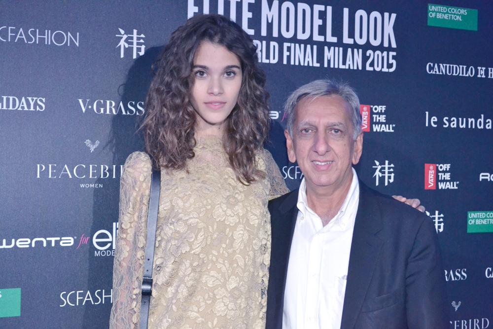 Aziz Patel, directeur Elite Model Look Reunion Island, très fier du parcours exceptionnel de Pauline Hoarau qui avait gagné le concours à La Réunion en 2011