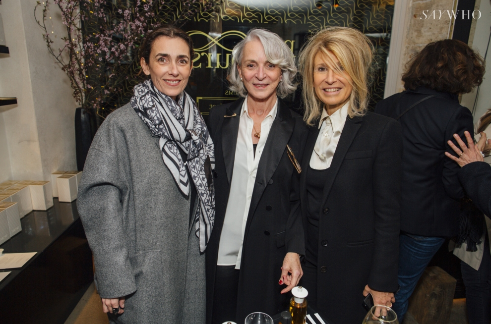 Mlle Agnes, Martine Denisot et Anne-Florence Schmitt