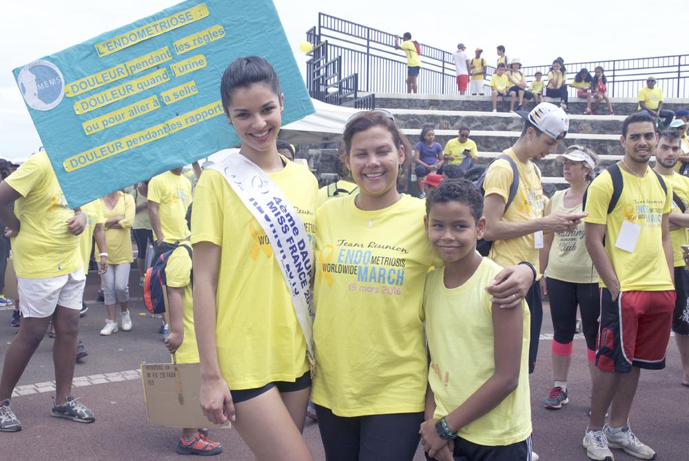 Miss Réunion a fait beaucoup de photos