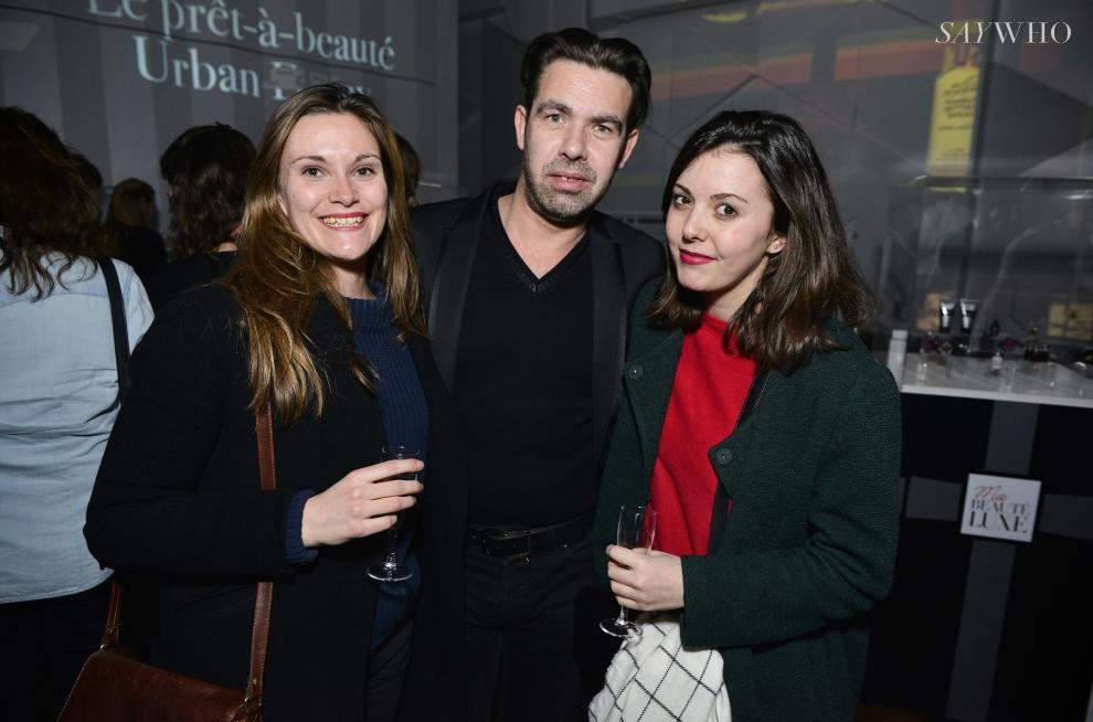 Christophe Gernigon, Fanny Liaux, Céline Guiné