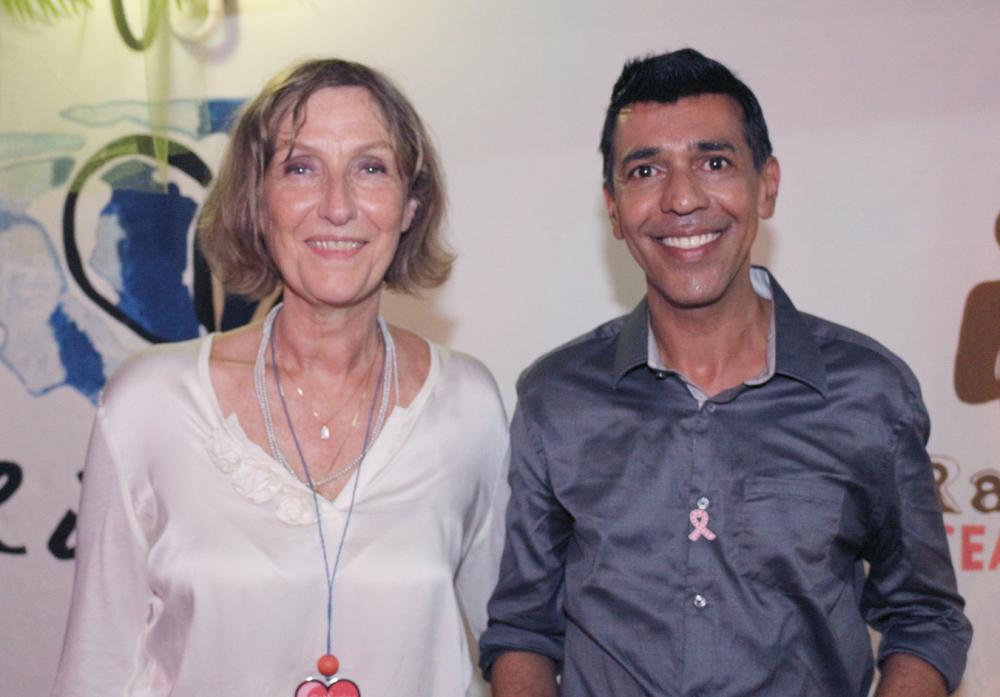 Catherine Gaud et Younous Omarjee, député européen