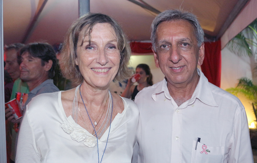 Catherine Gaud et Aziz Patel