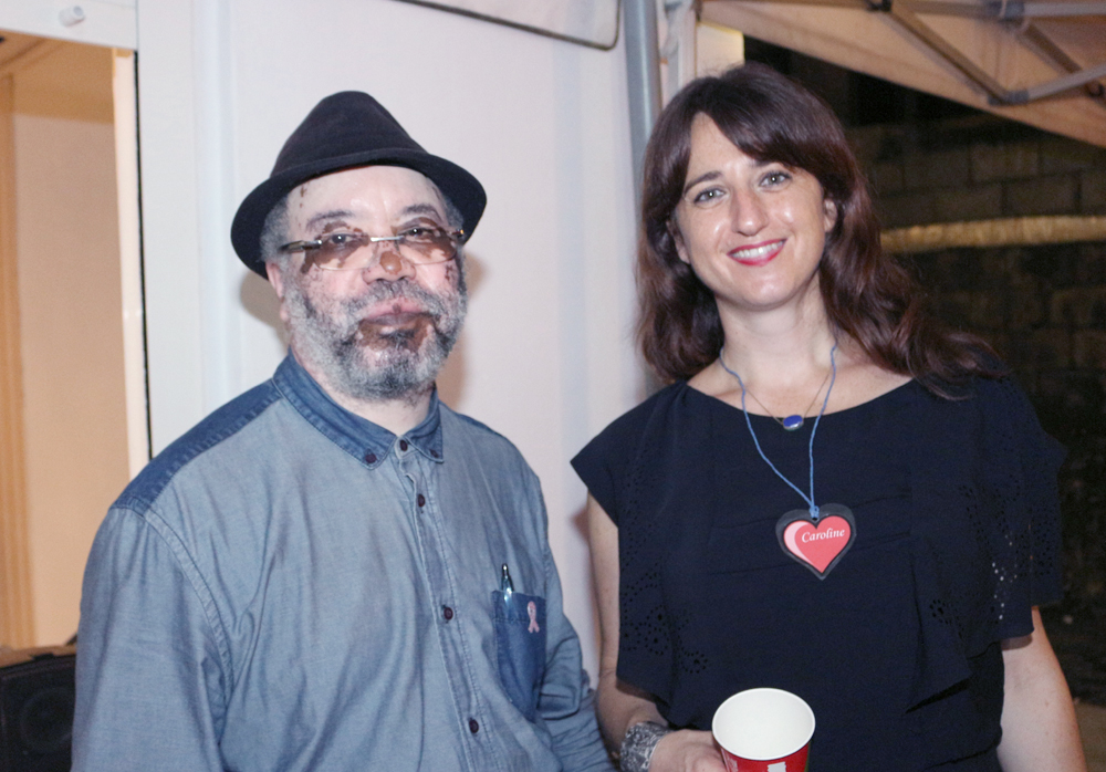 Monsieur Sadala, Mairie de Saint-Denis, et Caroline Roselli, éducatrice spécialisée