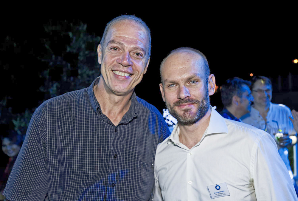 Thierry Hoarau, DRH chez GTOI  et Michael Feau, Directeur Commercial, Marketing et RH chez Teralta