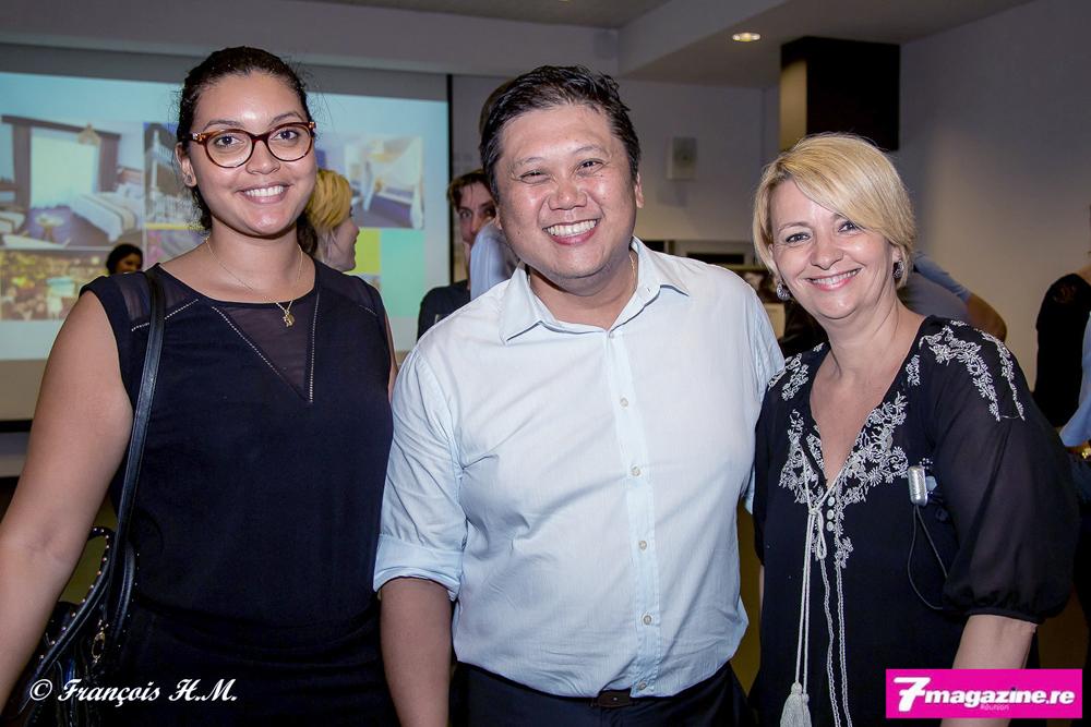 Elodie Sanika de 20/Vin, Mr Attive et Corine Louapre du Mémento