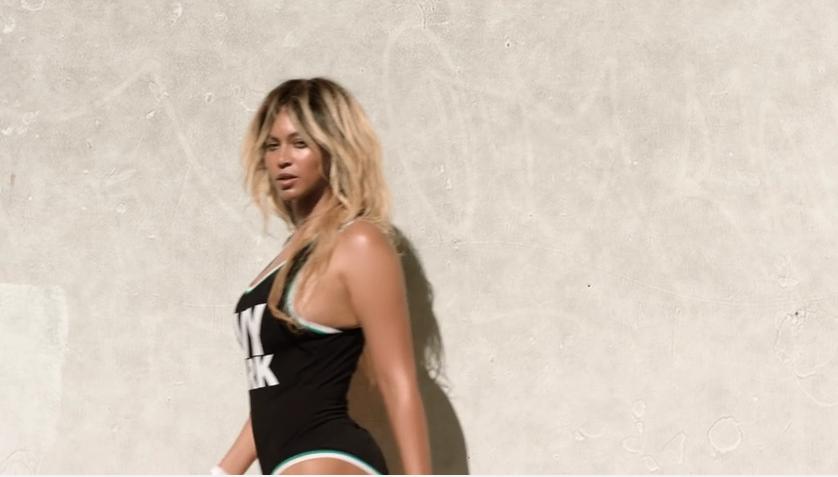 Beyonce lance sa gamme sportswear avec sa petite fille