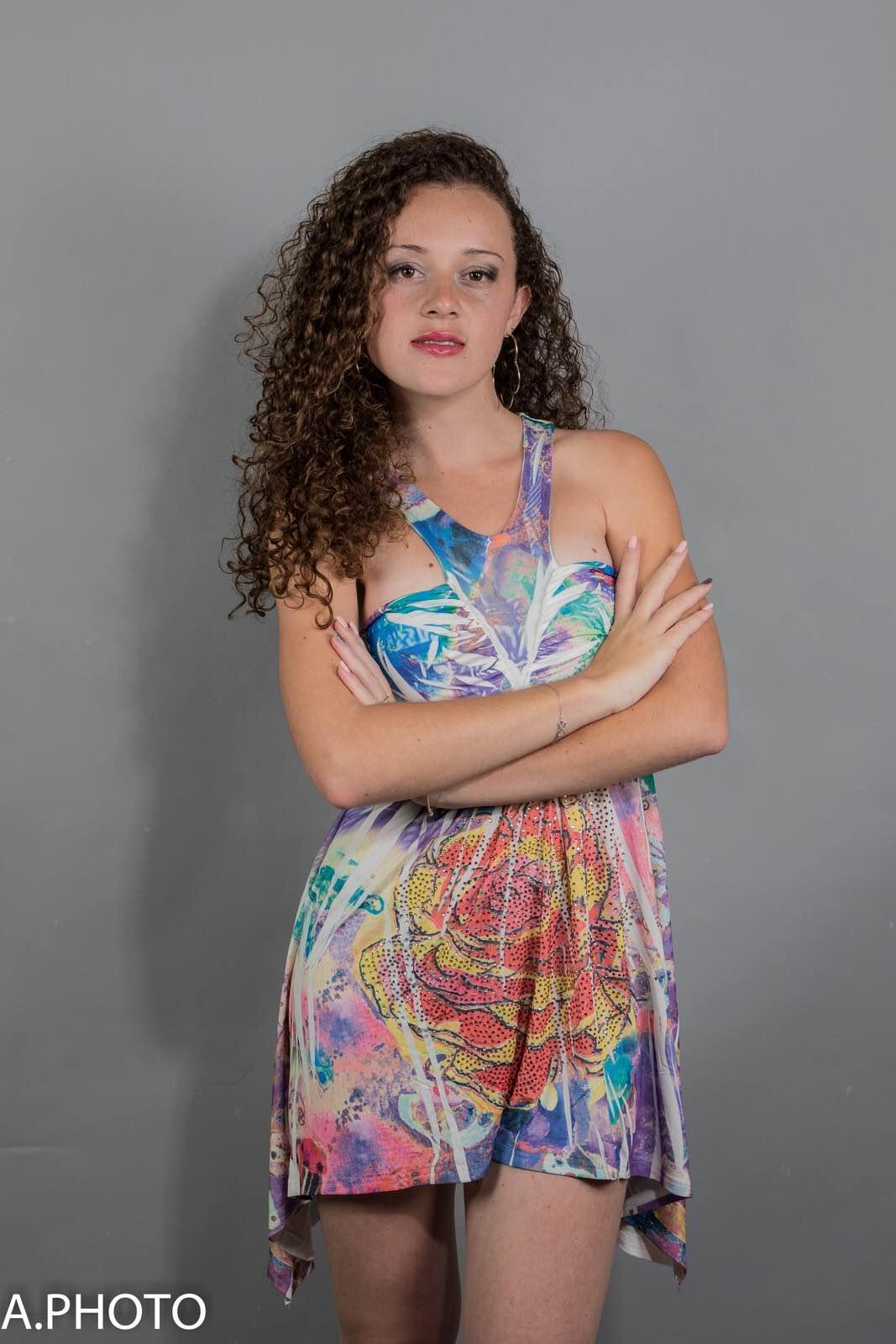 Alice a été élue 2ème dauphine de Miss Plaine des Cafres 2016